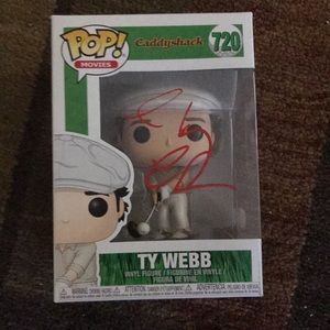 Chevy Chase Autographed Funko w cert